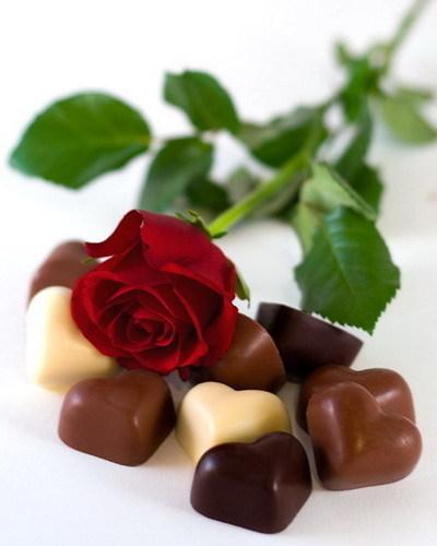 цветы-конфеты