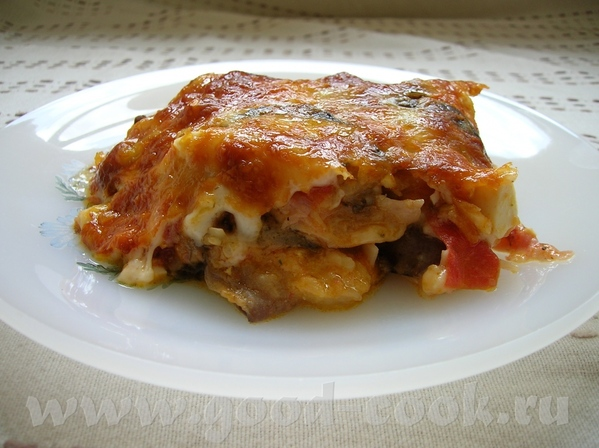 Спасибо за вкуснющую Катанийская баклажанная запеканка/Catanesischer Auberginenauflauf/Parmigiana a...
