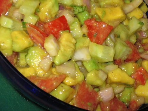 Сальза фантастическая: Таня, большое спасибо за рецепт, это вкусный, свежий и пикантный салат