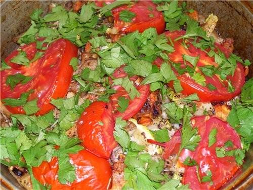 Спасибо огромное Верочке за ВКУСНЕЙШОЕ блюдо Кюфта с овощами в духовке Нам ОЧЕНЬ ПОНРАВИЛОСЬ