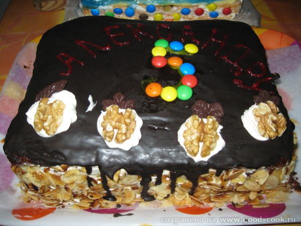 """Спасибо Лиде-Саяногорочке за удачный рецепт торта """"ШОКОЛАД НА КИПЯТКЕ"""" Делала торт"""