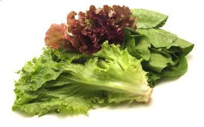Вспомнился еще один вкусный салат из зеленых листьев - 2