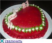 торт роза торт коляска торт красное сердце - 9