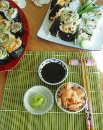 Ну и какое же суши без маринованого имбиря - 3