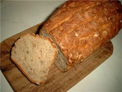 Сегодня испекла опять хлеб
