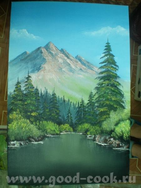 Картины по урокам Боба Росса - 3