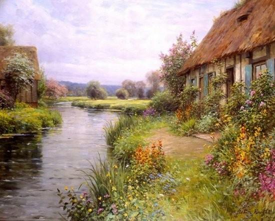 Делюсь Картины от Луис Астон Найт Луис Астон Найт (Louis Aston Knight) был сыном американского худо...