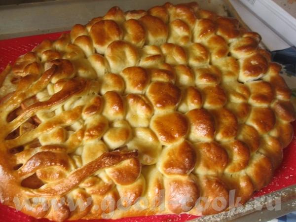Грушевый пирог какая красота получилась и Наташа уже с пирожком подоспела