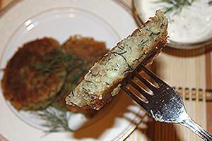 чечевично-картофельные котлеты