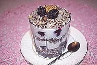 десерт с гречневой крупкой и творогом