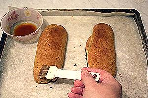 горчичные булочки