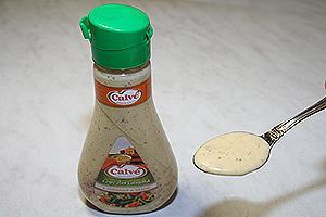 домашняя шаурма с соусом Кальве с горчицей и мёдом