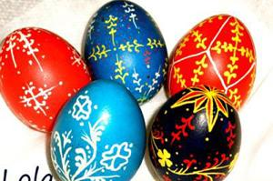 пасха, яйца
